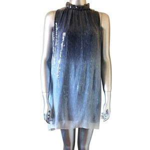 Alice and Olivia Ombré Sequin Dress